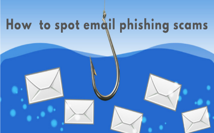 How to spot email phishing scams
