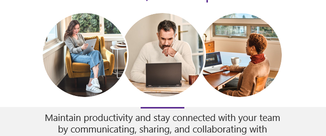 Using Microsoft Teams while working from home (WFH) and in the office