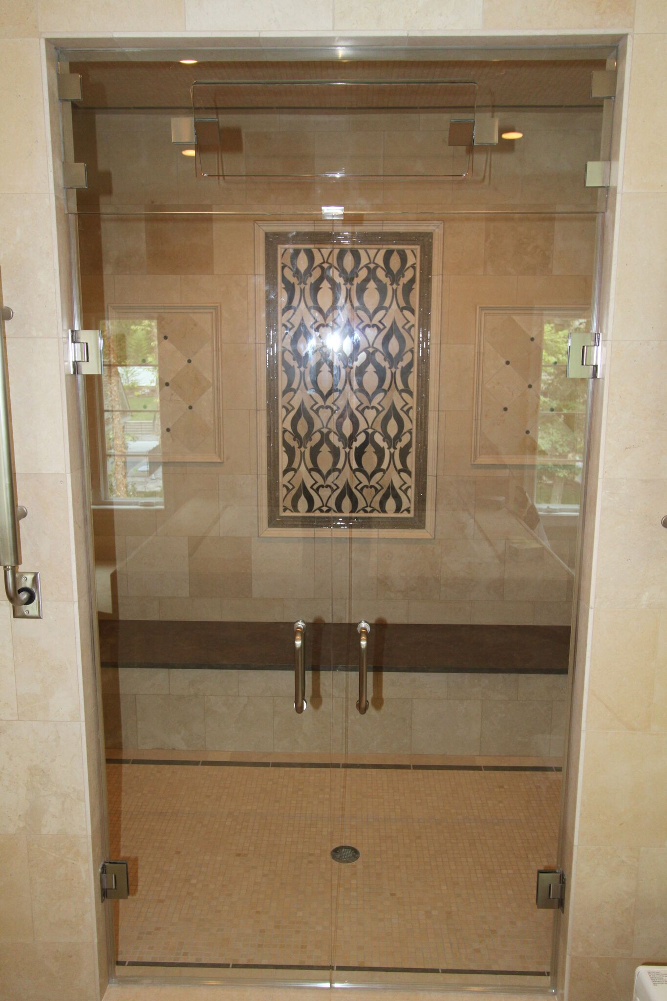 Double Door Steam Shower-min