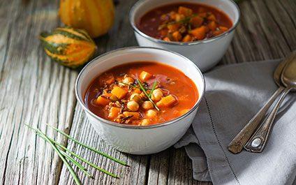 Pumpkin & Butternut Squash Chili