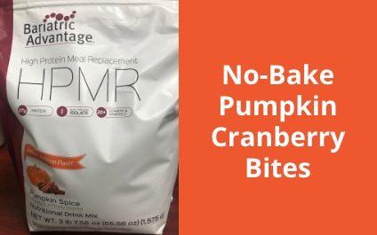 No-Bake Pumpkin Cranberry Bites