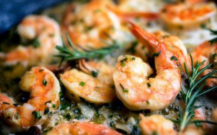 Zesty Shrimp Sauté