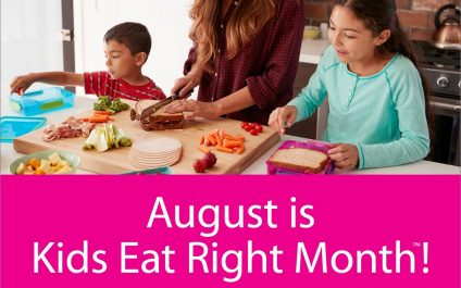 August in Kids Eat Right Month