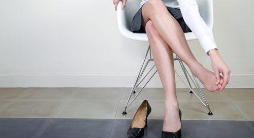 Does wearing high heels cause varicose veins?