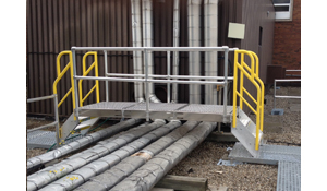 RoofGuard Crossover Rooftop Fall Protection System
