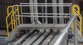 Rooftop obstruction crossover system