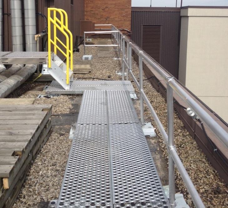 Rooftop walkway system