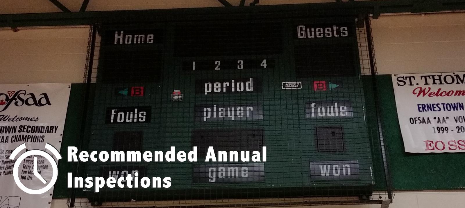 Scoreboard Inspection