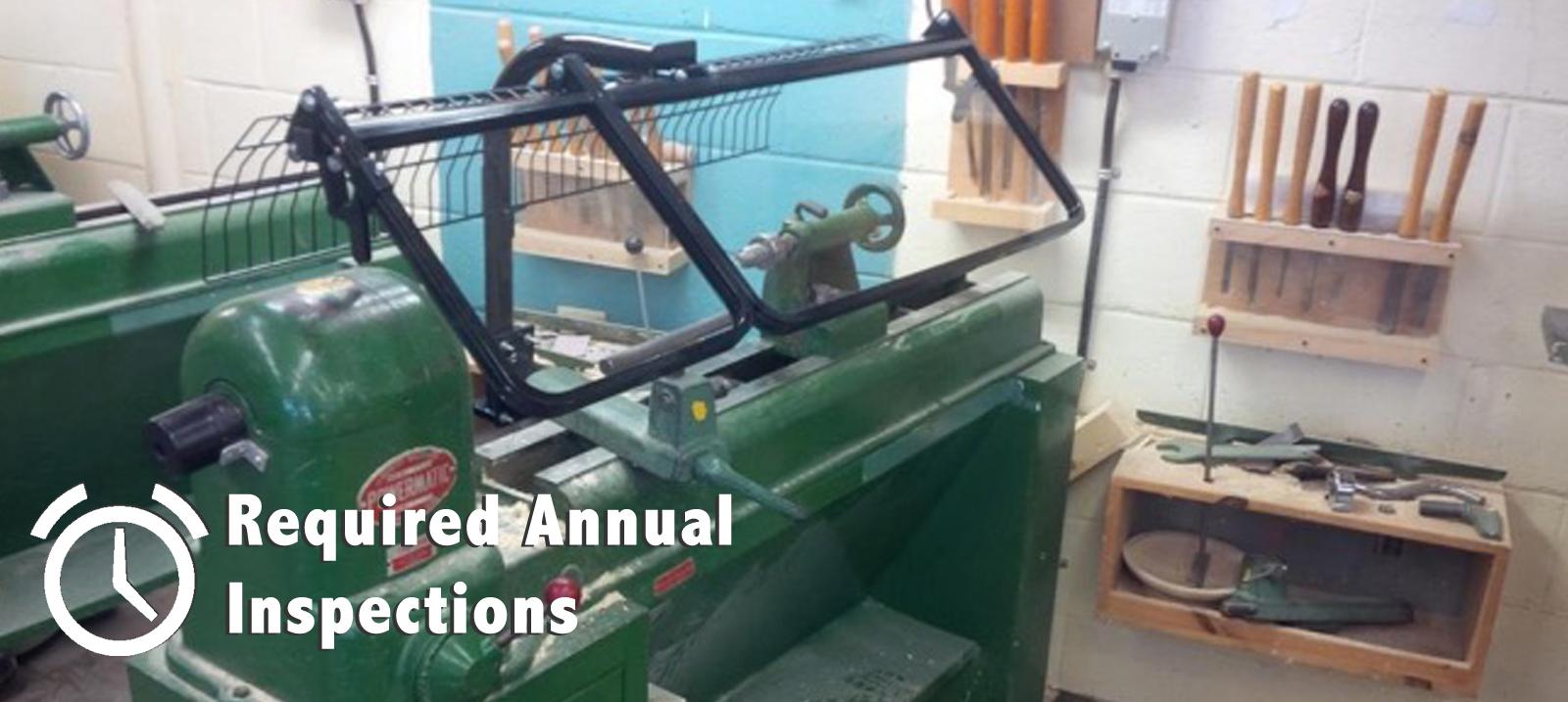 Shop Equipment Inspection