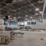 basketball court install