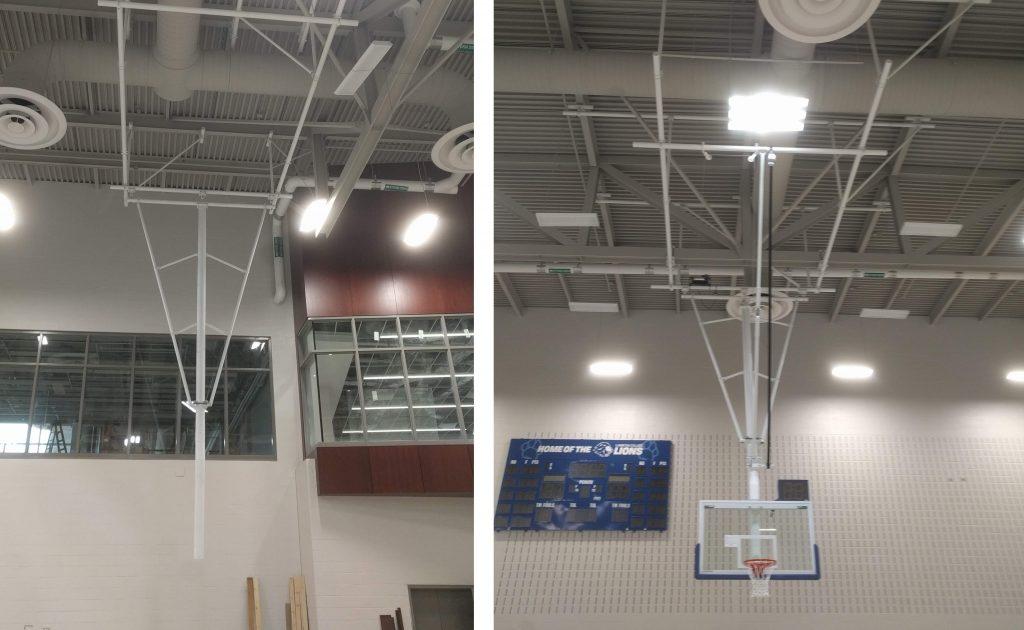 Basketball Net Installation