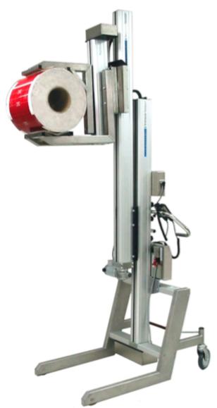 Telescopic Mast Roll Handling
