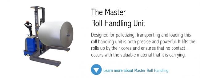 Master Heavy Duty Horizontal Lift and Turn Roll Handling