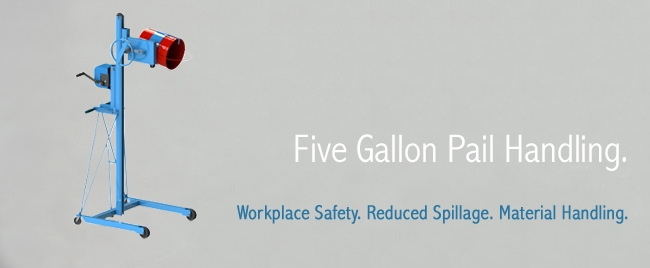 5 Gallon Pail Handling
