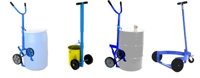 2-Wheel Drum Truck