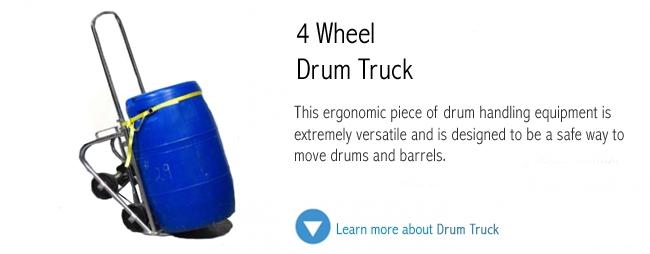 4 Wheel Drum Truck