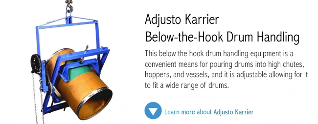 Adjusto Karrier Drum Handling