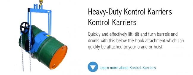 Heavy Duty Kontrol Karriers