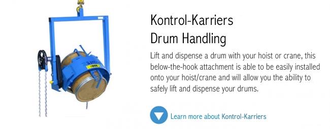 Kontrol Karriers Drum Handing