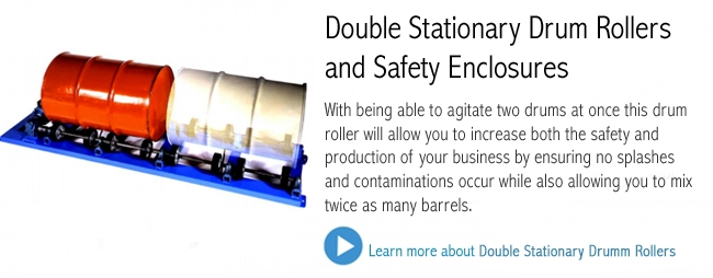 Double Stationary Drum Rollers