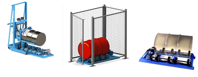 Single Stationary Drum Rollers