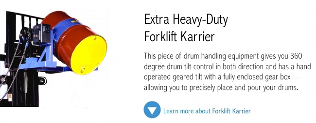 Extra Heavy Duty Forklift Karrier