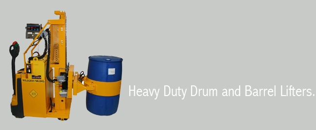 Heavy Duty Drum and Barrel Lifters