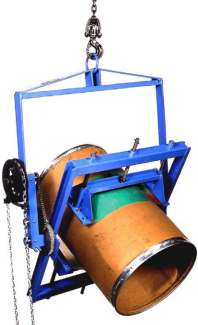 Below-the-Hook Barrel Lifter