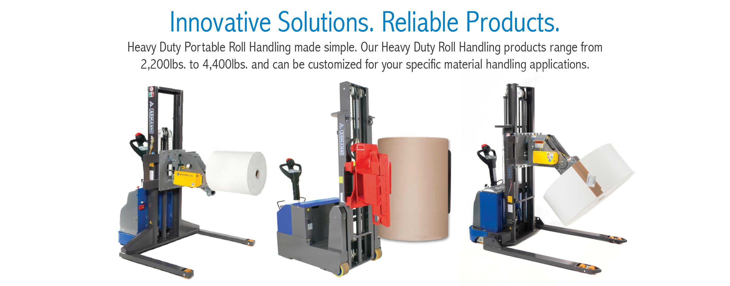 Heavy Duty Portable Roll Handling Solutions