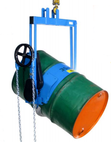 Heavy-Duty Below-the-Hook Barrel Lifter