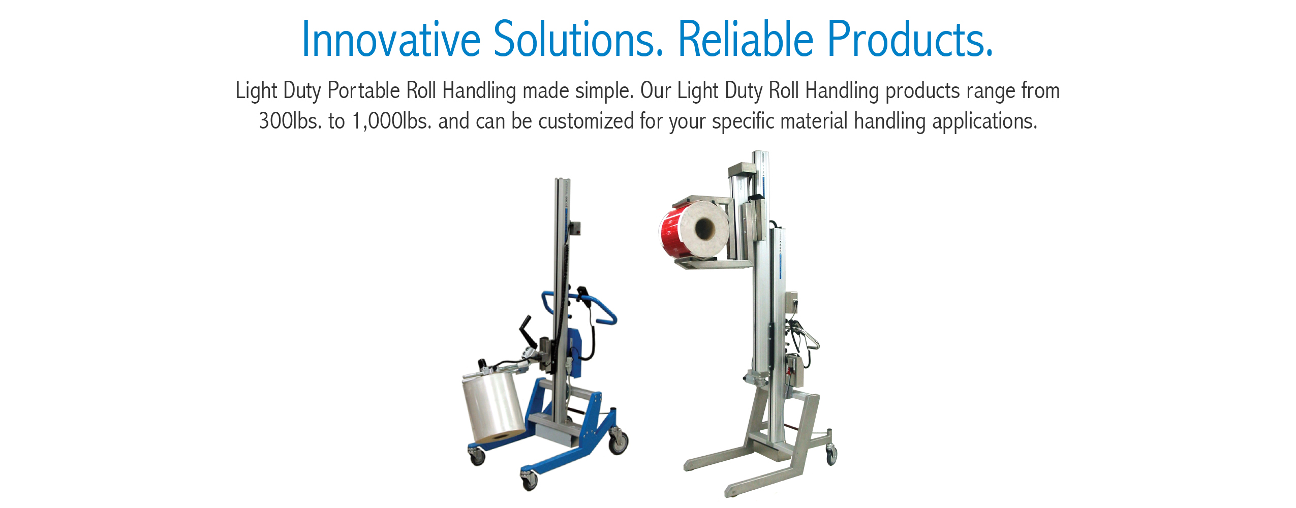 Portable Roll Handing Products