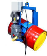Power Tilt Below-the-Hook Barrel Lifter