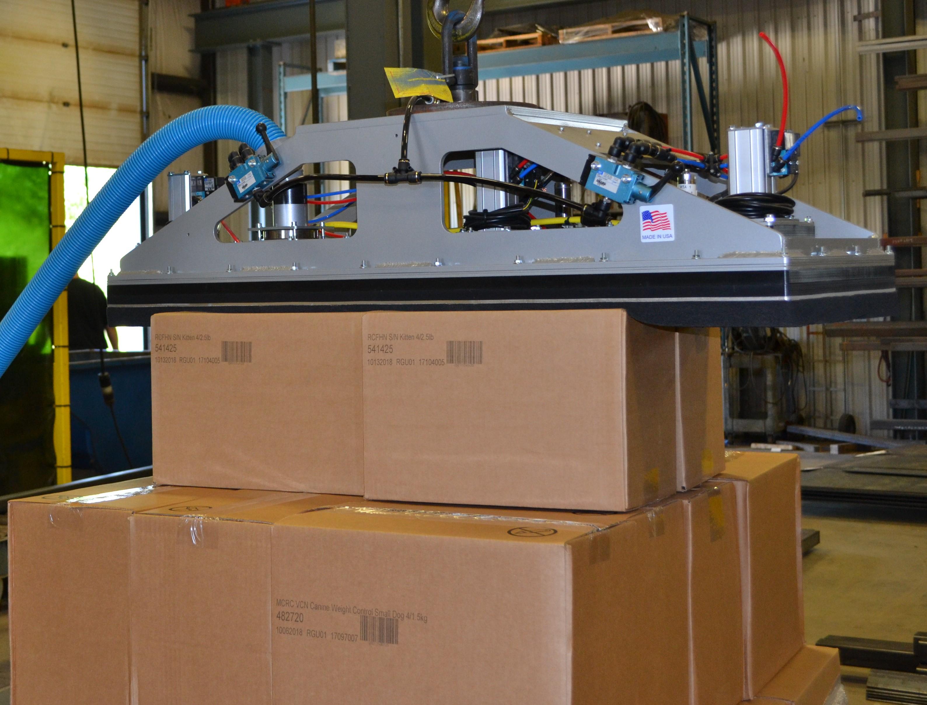 Vacuum Box Lifter