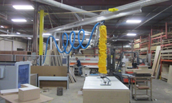 Vacuum Tube Lifter For Lifting Wood And MDF Sheets