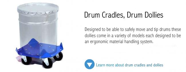 Drum Cradles and Dollies