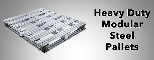 Heavy Duty Modular Steel Pallets