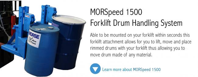 MORSpeed 1500 Drum Handling Unit