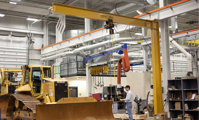 Mast Type Performance Jib Cranes