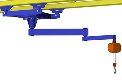 Ceiling Mounted Articulating Jib Cranes