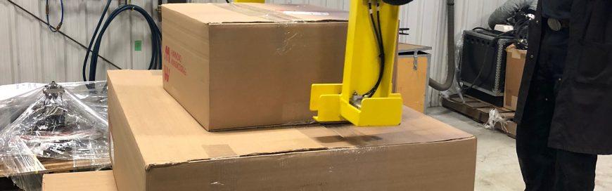 Cardboard Box Lifter