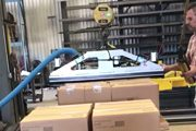 Vacuum Box Lifting System
