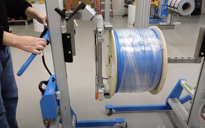 Wire Spool Lifter