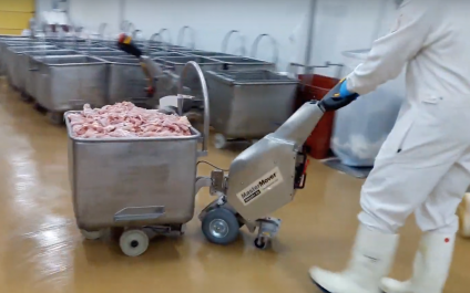 Cart Mover for the Food & Beverage Industry