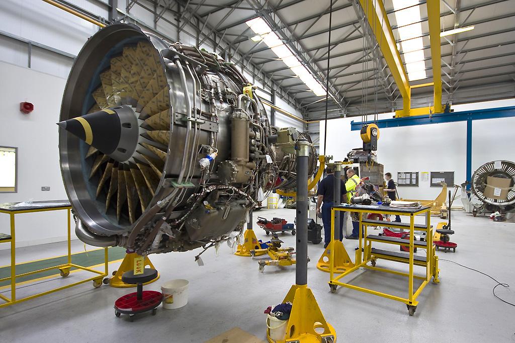 Aviation Engine Tooling