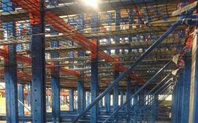 Horizontal Rack Safety Netting
