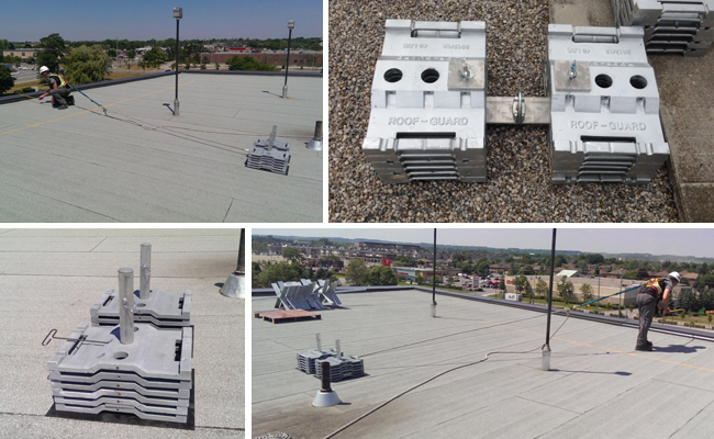 Rooftop Restraint Anchor