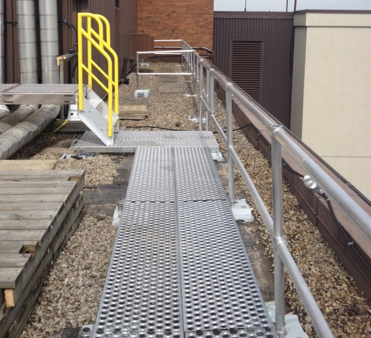 Rooftop walkway system