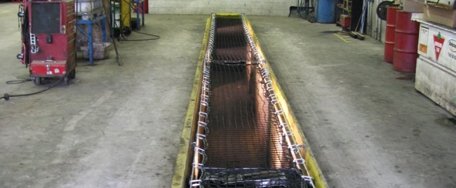Oil Pit Netting System