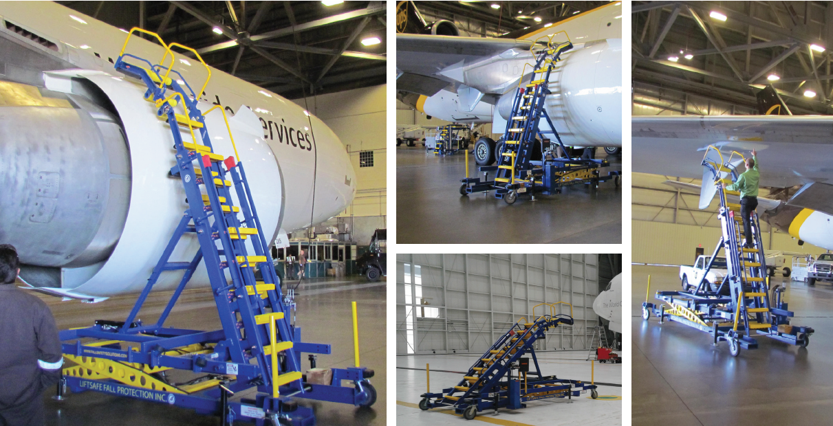 Aircraft Maintenance and Engine Access Stand 06 Banner