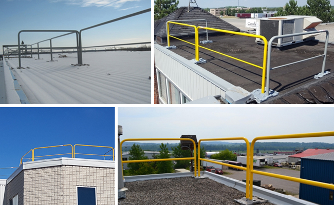 RoofGuard X-Press Rooftop Guardrail